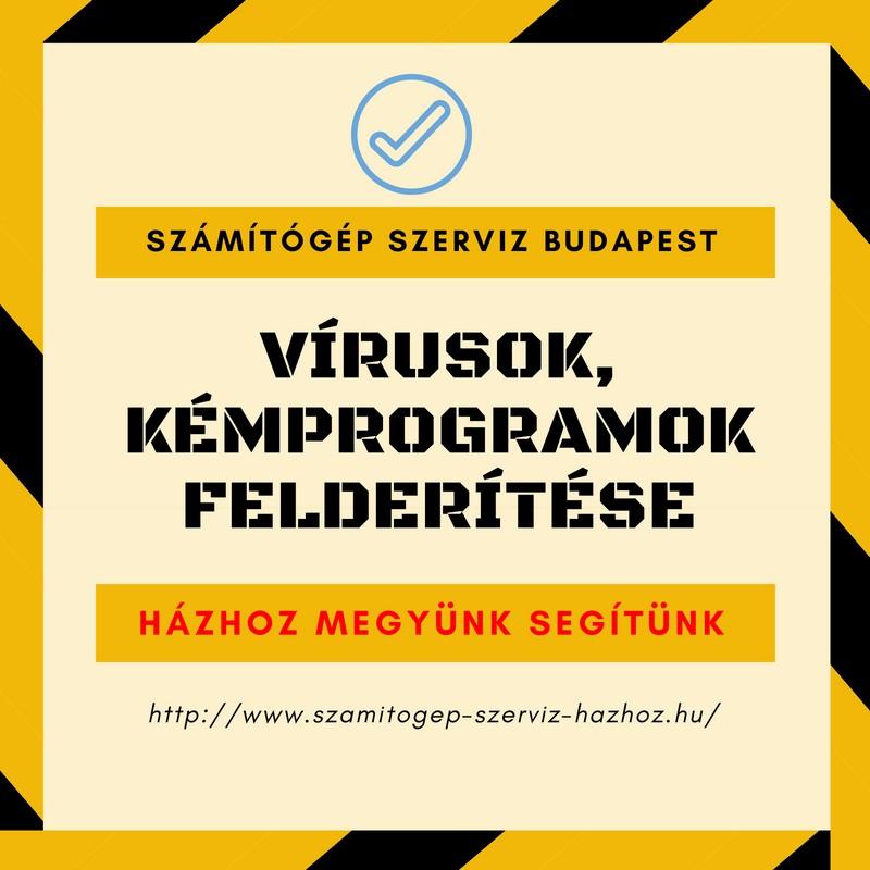 Vírusok, kémprogramok felderítése